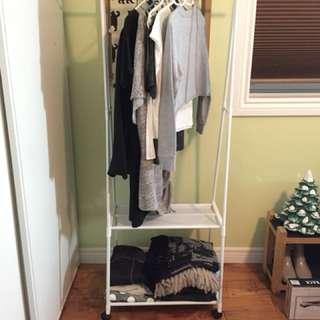 Aluminum Clothing Rack