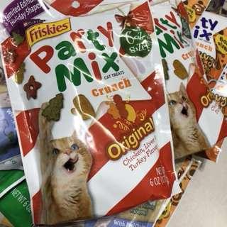 Brand new Friskies Party Mix cat treats