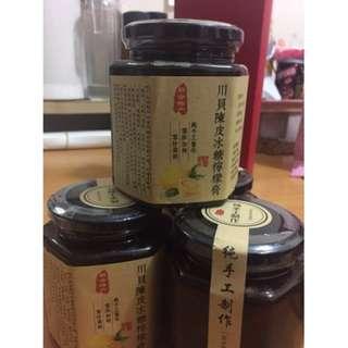 川貝陳皮冰糖檸檬膏 500g/瓶