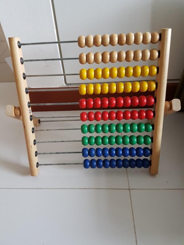 100s abacus Ikea