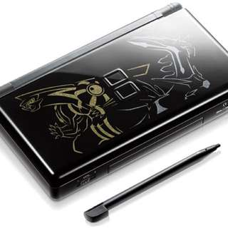 Nintendo DS Lite Pokémon Dialga and Palkia Limited Edition with Matching Pouch