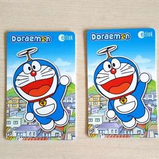 Doraemon Ezlink Cards x2