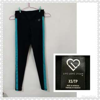 NEW AEROPOSTALE LIVE LOVE DREAM FITNESS/YOGA/ZUMBA OUTFIT
