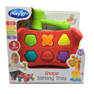 Playgro Shape Sorting tray Kid Toy