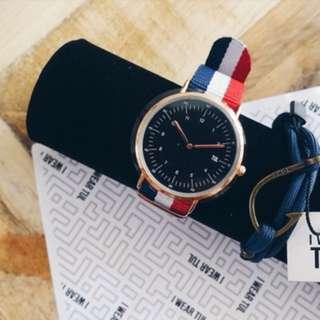 FREE Bracelet & IWEARTUL Watch Nautical Style Bundle