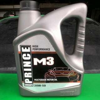 engine oil Prince 20w 50 4liter