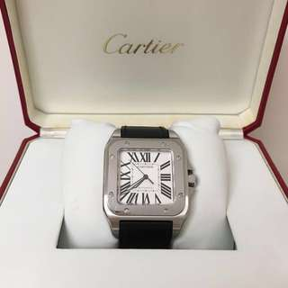割愛大平賣 Cartier Santos 100 L size