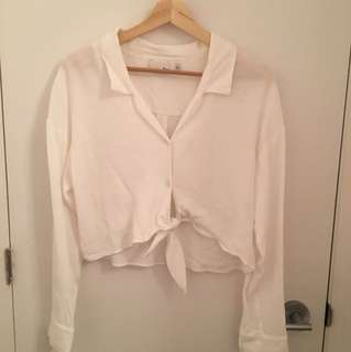 Aritzia Wilfred Free Rodgers Blouse