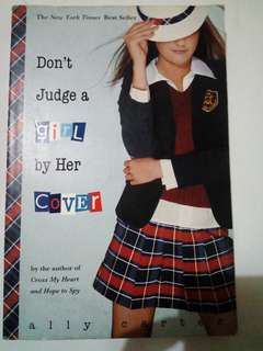 Don't judge a girl by it's cover