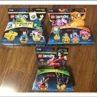 LEGO Dimensions Adventure Times Combo sets