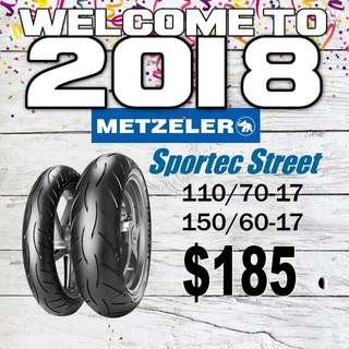 Metzeler Sportec Street Promotion 2018