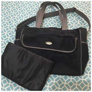 FINAL SALE!!! Baby Kit's Diaper bag with changing pad