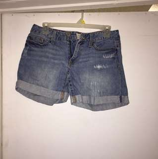 Shorts size 3/4 regular