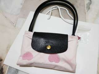 Longchamp valentine limited edition tote.