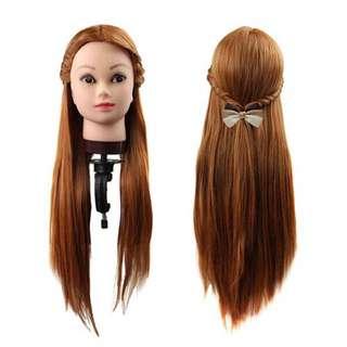 Mannequin Kepala Rambut Palsu