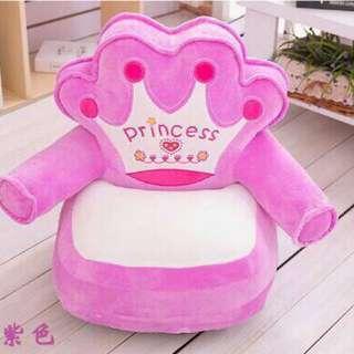 Baby sofa pink