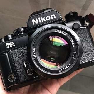 (MINT/TESTED) Nikon FA + 50mm F1.4 AIS