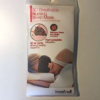 3D breathable nursing sleep mask