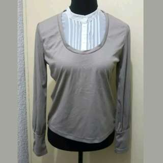 WA230 Smart Casual Long Sleeve Blouse (S to M)