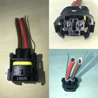 BMW fan wire socket