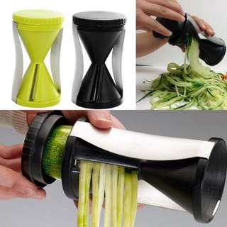 Vegetable spiral slicer/alat pemotong sayuran
