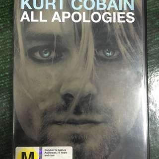 Kurt Cobain : All Apologies dvd