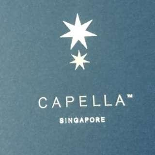 1 night villa stay at Capella Sentosa
