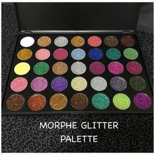 🍃 Morphe Eyeshadow Glitter Palette