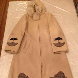 Eskimo Parka Real Fox Fur & 100%wool Made By ESKIMO