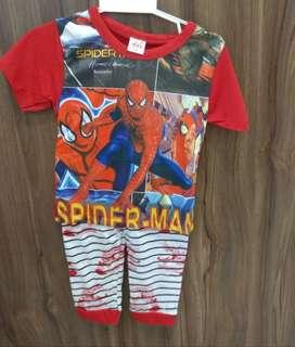 Spiderman - cartoon pyjamas
