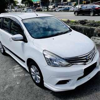 Nissan Grand Livina 1.8cc (2014)(AT)(OTR)