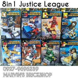 For Sale Justice League 8in1 Minifigures