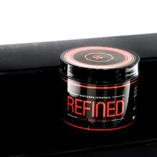 Refined Heavy Hold Pomade | ULTRA HOLD | WATER BASED | GENTLE ON THE SCALP | BBEST POMADE IN THE MARKET
