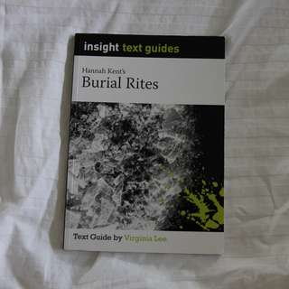 Burial Rites Insight Guide