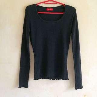 Esprit black long sleeves