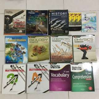 Textbooks/ Revision guides