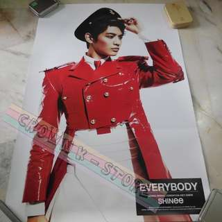 [READY STOCK]SHINee MINHO KOREA OFFICIAL POSTER 1PC SHIP USING TUBE (PRICE NOT INCLUDE POSTAGE)(PLEASE READ DETAILS FOR MORE INFO)