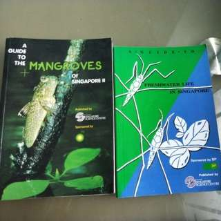 Guide to mangroves and freshwater books
