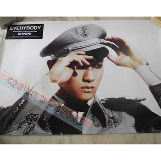 [READY STOCK]SHINee KEY KOREA OFFICIAL POSTER 1PC SHIP USING TUBE (PRICE NOT INCLUDE POSTAGE)(PLEASE READ DETAILS FOR MORE INFO)