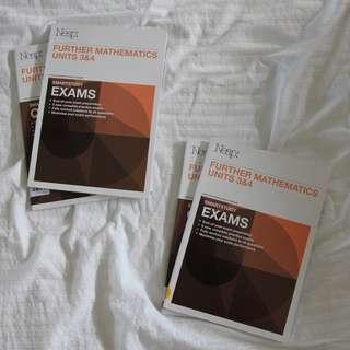 Neap Further Mathematics Exams + Questions ($20 per set)