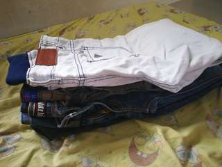 Denim pants bundle