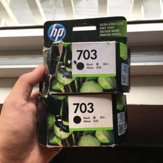 HP 703 Black Cartridge - New
