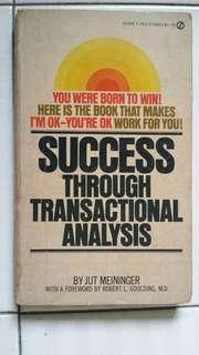 Success Through Transactional Analysis
