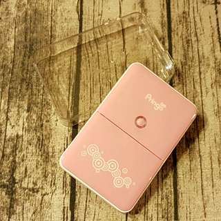 pringo p231 粉色 熱昇華 印相機 無墨列印