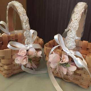 Flower Girl and Boy Basket & Available for Pre-order custom made.👰🤴🏻