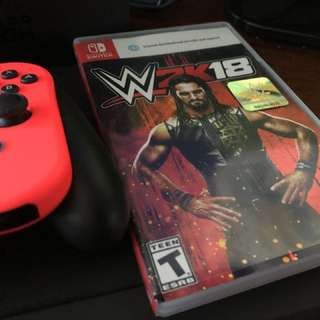 WWE 2K18 for Nintendo Switch (Price reduced)