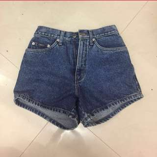 LEA highwaist hotpants size 27