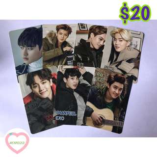 EXO yescard 122發 白卡set