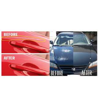 CAR BODY DENT & DAMAGE REPAIR AND RESPRAY