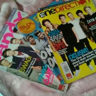 One Direction Magazine Bundle